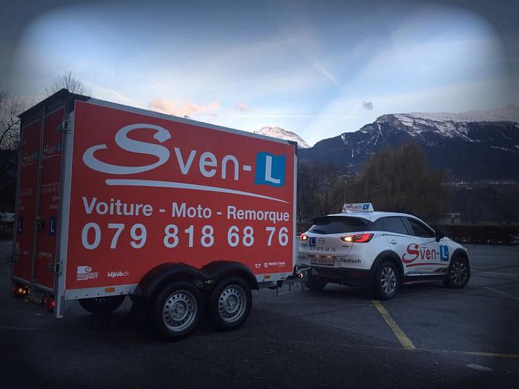Sven-L Auto Moto Ecole Sierre Sion